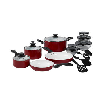 Philippe Richard 17-pc. Ceramic Nonstick Cookware Set