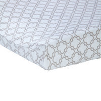 Carter S Carter's Changing Pad Cover - Gray Trellis