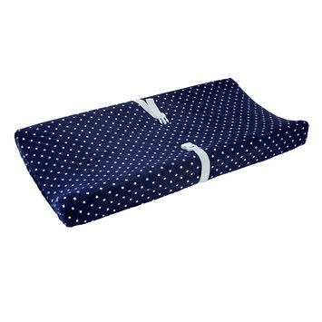 Carter S Carter's Changing Pad Cover - Navy Stars