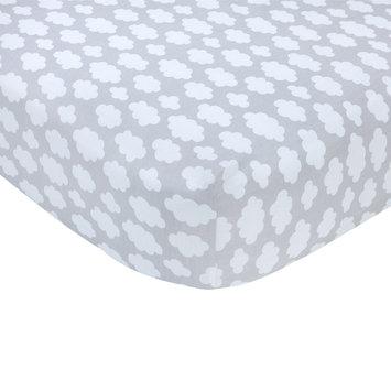 Carter S Carter's Sateen Gray Trellis Crib Sheet