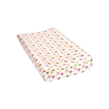 Trend Lab Llc Trend Lab Owl-Print Flannel Changing Pad Cover