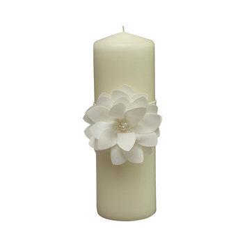 Ivy Lane Design Water Lily Pillar Candle
