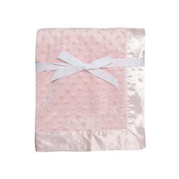Baby Starters Satin Trim Cuddly Baby Blanket-One Size, PINK