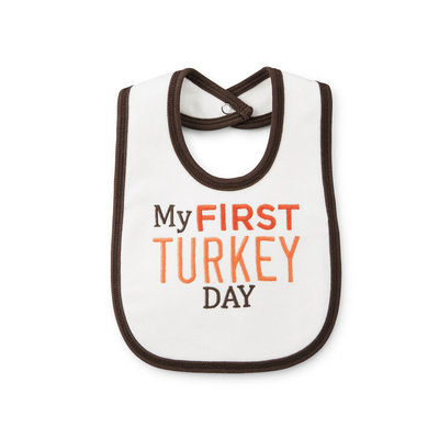 Carter's My First Turkey Day Bib
