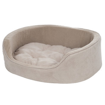 Petmaker Watches Clay Cuddle Round Microsuede Pet Bed