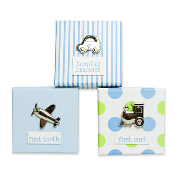 Baby Essentials 3-pc. Keepsake Box Set - Boys