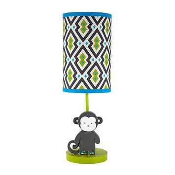 Asstd National Brand Safari Monkey Lamp and Shade