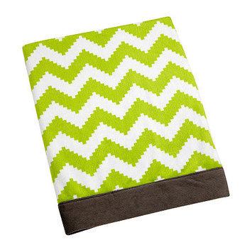 Asstd National Brand Safari Monkey Print Blanket