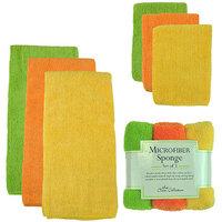 Design Imports Citrus Micro Fiber Cleaning Set