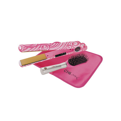 Chi Home CHI Air Expert Classic Tourmaline Ceramic Pink-A-Delic 1-inch Flat Iron