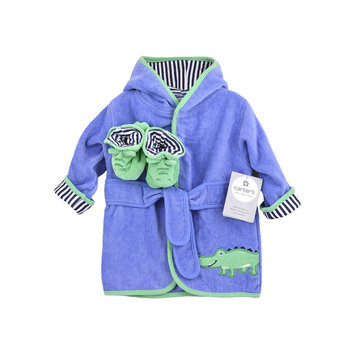 Carter's Gator Robe and Booties
