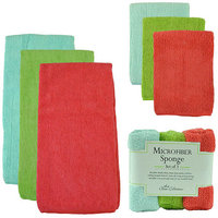 Design Imports Brights Micro Fiber Cleaning Set