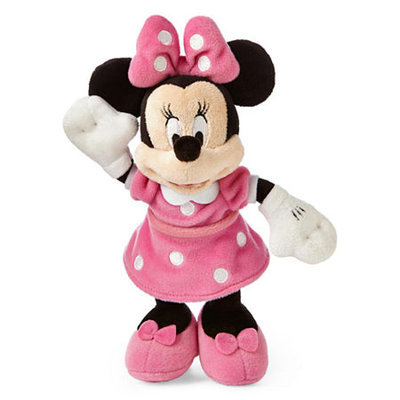 Disney Pink Minnie Mouse Mini Plush