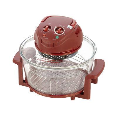 Fagor 670040380 12 qt. Halogen Tabletop Oven Red