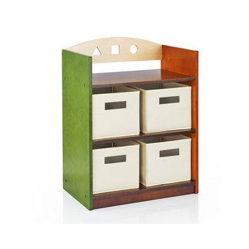 Guidecraft See & Store Kids Bookshelf
