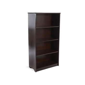 Guidecraft G86211 Classic Espresso 48 in. Bookshelf