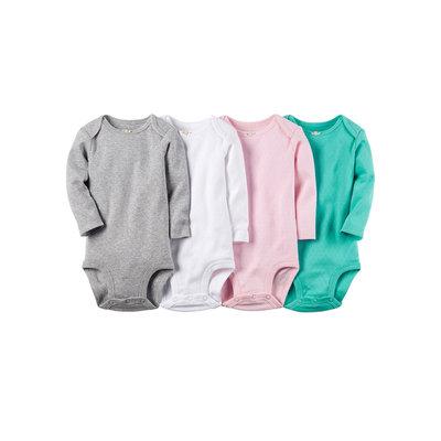 Carter's 4-pk. Long-Sleeve Bodysuits - Baby Girls newborn-24m