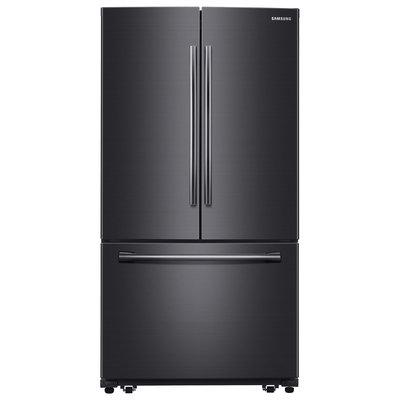Samsung 25.5 Cu. Ft. French Door Refrigerator - Black Stainless
