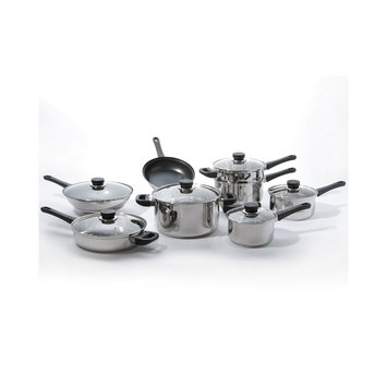 Berghoff International BergHOFF Cook N' Co 14-pc. Stainless Steel Cookware Set