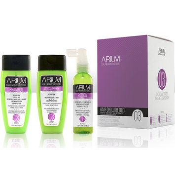 Arium International ARIUM Hair Growth Trio #03 for Chemically Treated Medium to Coarse Hair