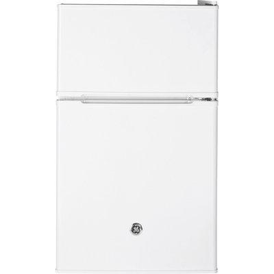GE GDE03GGKWW 3.1 Cu. Ft. White Compact Refrigerator