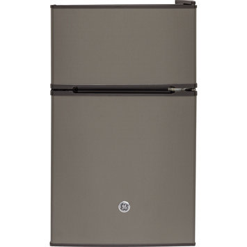 GE GDE03GLKLB 3.1 Cu. Ft. Stainless Steel Compact Refrigerator