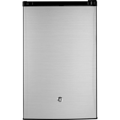 GE GME04GLKLB 4.4 Cu. Ft. Stainless Steel Compact Refrigerator