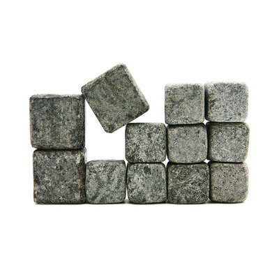 Sparq Soapstone Whiskey Rock/Wine Stone/Coffee Stone, Set of 12