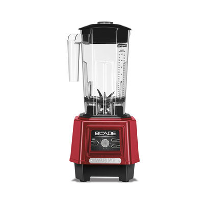 Waring Pro Kb500mr Table Top Blender - 1500 W - 1.50 Quart - 15 Speed Setting[s] - Tritan Copolyester, Stainless Steel, Rubber, Plastic - Metallic Red (kb500mr)