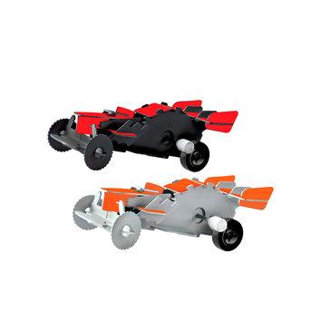 Protocol 2-pk. Desk Racers 3D Wind-Up Puzzles