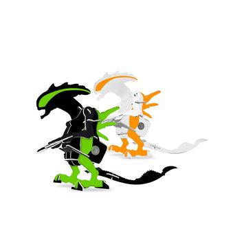 Protocol 2-pk. Wind-Up Alien Puzzles
