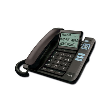 G.E. Thompson Corded Desk Phone, CID, Tilt S