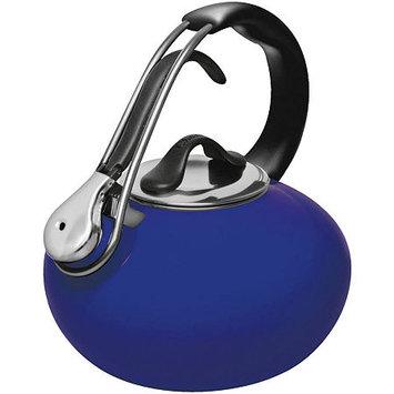 Chantal Enamel-on-Steel Loop 1.8-qt. Whistling Teakettle Sea Blue