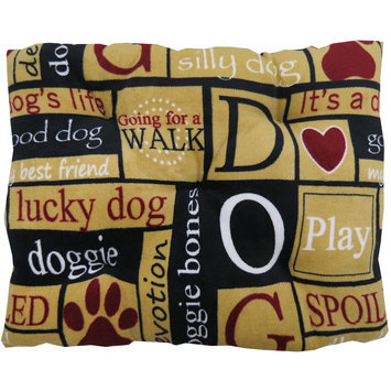 PB Paws for Park B. Smith I Love Dogs Pet Bed - 28