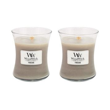 WoodWick Set of 2 Medium Fireside Candles