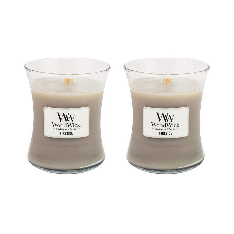 WoodWick Candle Apple Crisp Large Jar