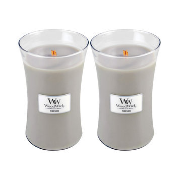 WoodWick Set of 2 Large Fireside Candles
