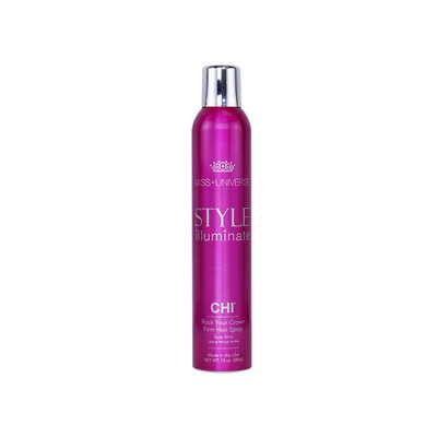 Chi Miss Universe Style Illuminate Rock Your Crown Firm Hairspray