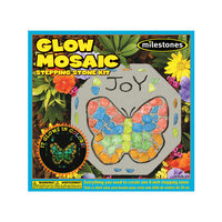 Midwest Products Glow In The Dark Mosaic Stone Kit