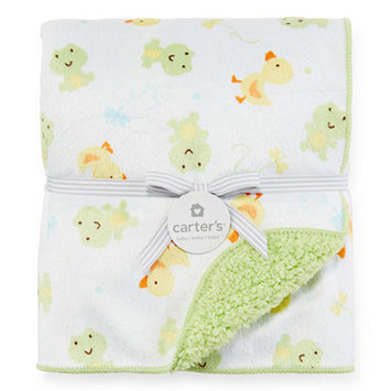 Carter's Frog Sherpa Blanket - One Size