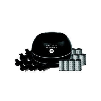 FHI Heat Runway IQ Volumizing Hot Roller Set with Dry Hair Spray