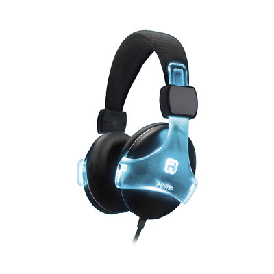 iHome Color-Changing Rechargeable Headphone with Mic/Remote