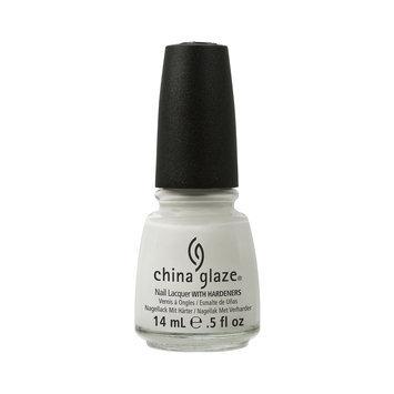 China Glaze White on White Nail Lacquer