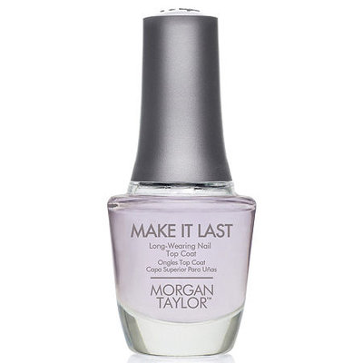 Morgan Taylor Make it Last Top Coat - .5 oz.