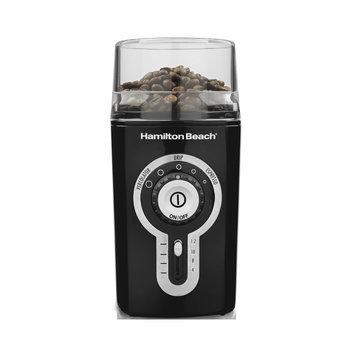 Hamilton Beach 2 oz Black Stainless Blade Coffee and Spice Grinder 80370