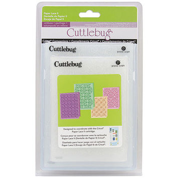 Cuttlebug Companions Embossing Folders