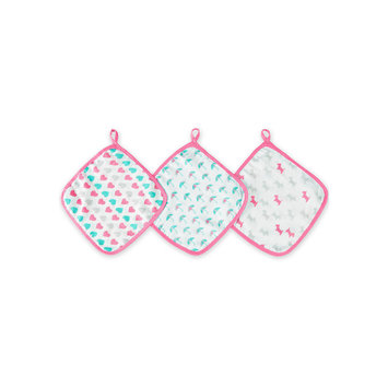 Aden By Aden + Anais ideal baby by the makers of aden + anais 3-pk. Large Washcloths