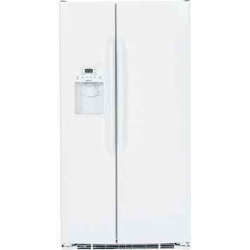Hotpoint HSS25ATHWW 25.4 Cu. Ft. White Side-By-Side Refrigerator