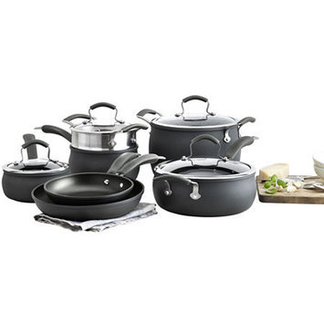 Epicurious 11-pc. Hard-Anodized Cookware Set