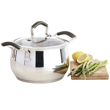 Epicurious 4-qt. Stainless Steel Soup Pot with Lid